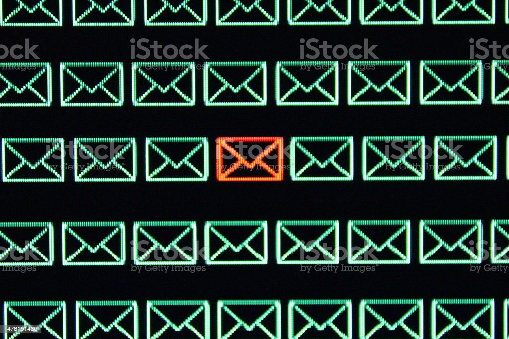 Email Privacy stock photo