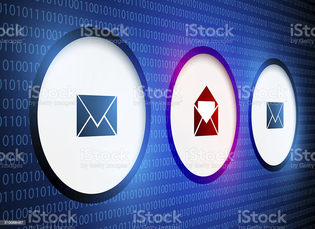 Email security stock photo