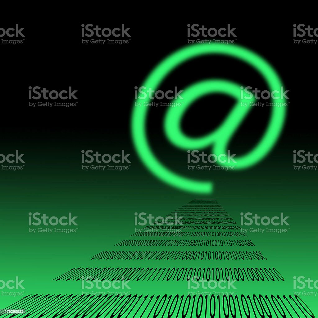 E-mail symbol royalty-free stock photo