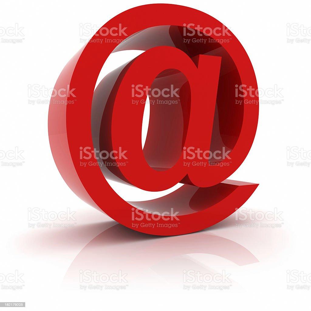 Email Symbol royalty-free stock photo