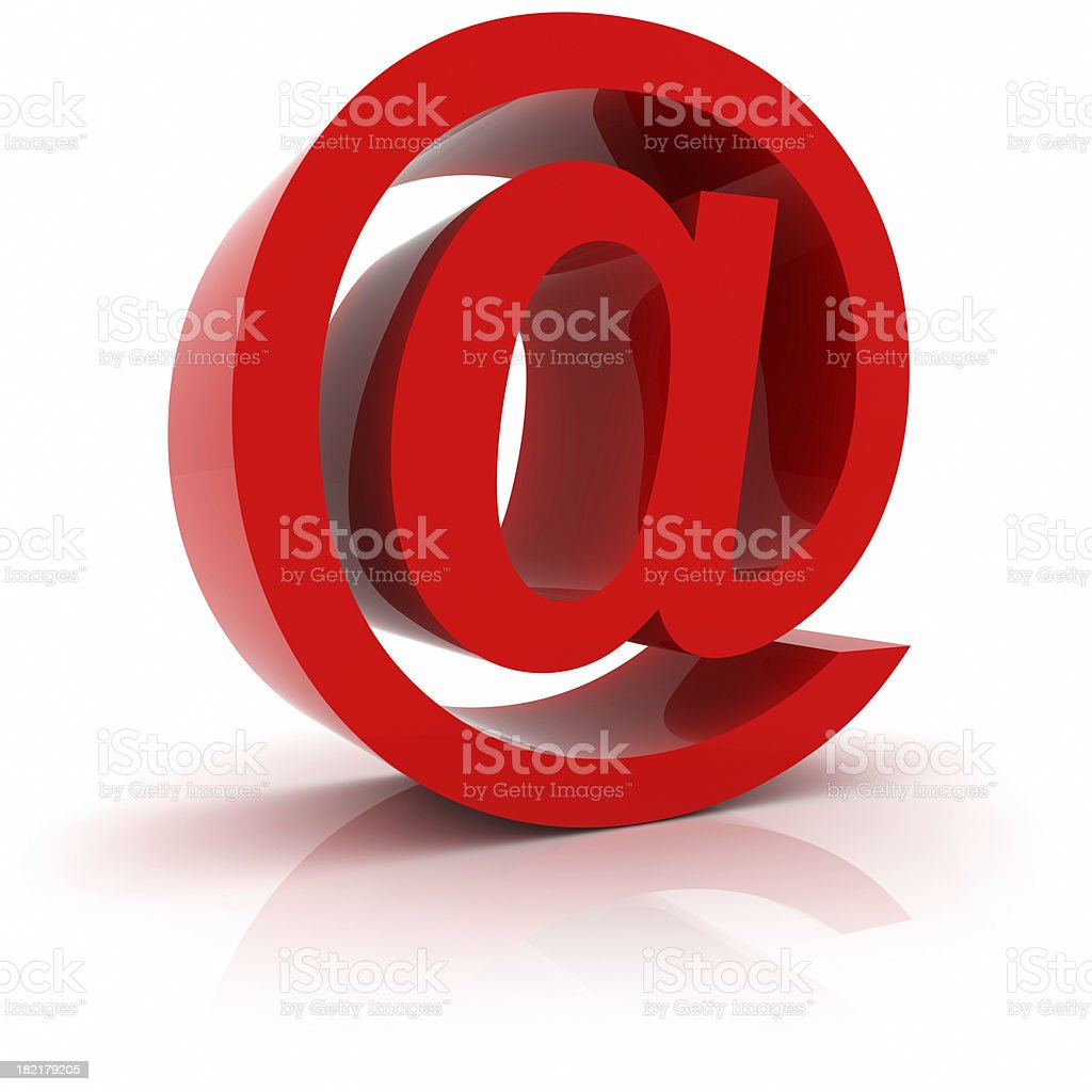 Email Symbol stock photo