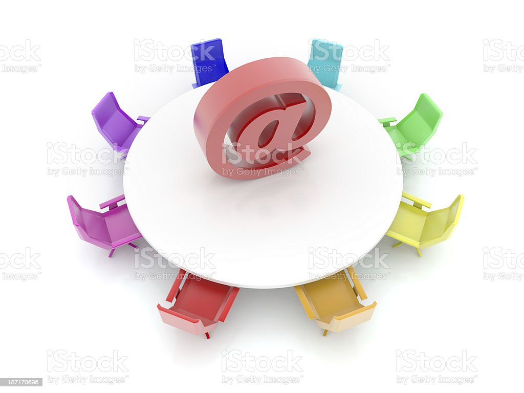 Email symbol royalty-free stock photo