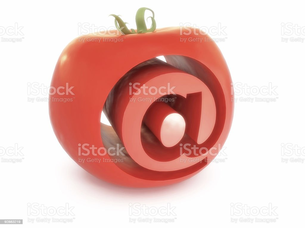 e-mail symbol stock photo