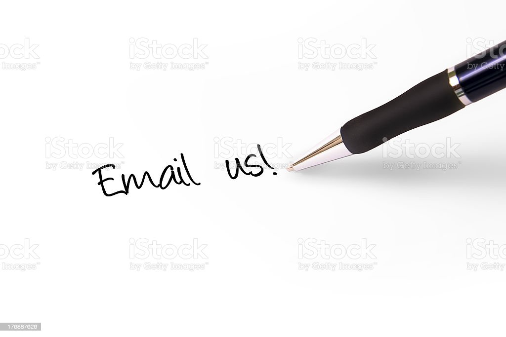 Email Us royalty-free stock photo