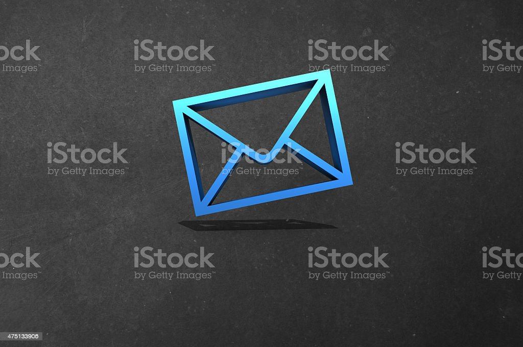 Email us stock photo