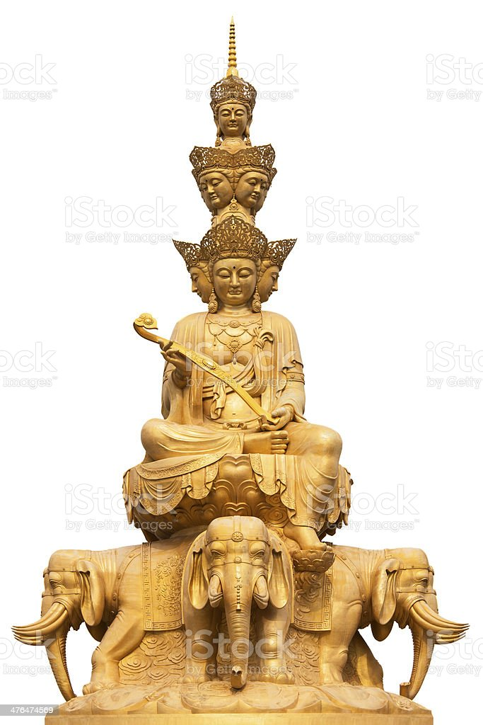 EmaiShan Budha stock photo