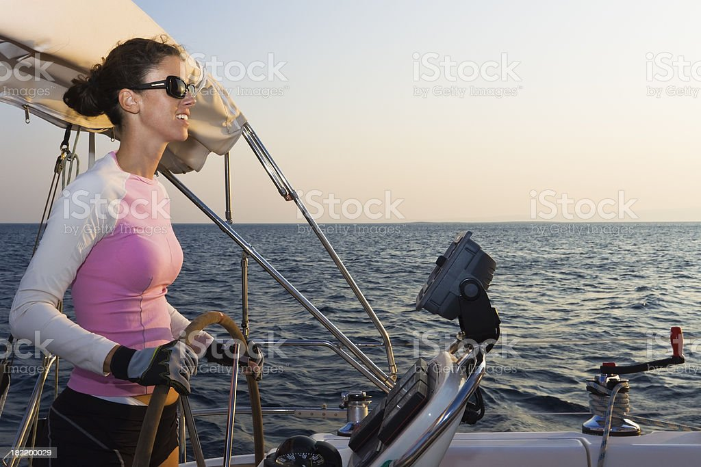 emancipated woman royalty-free stock photo