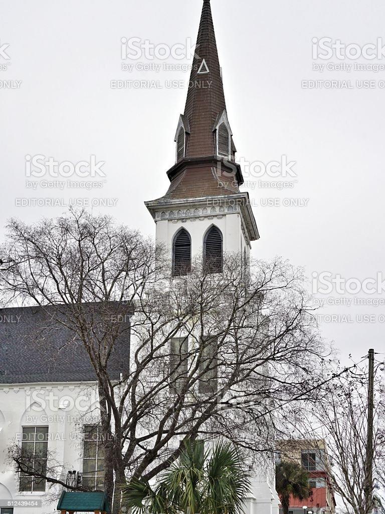Emanuel African Methodist Episcopal Church, Downtown Charleston, South Carolina stock photo