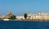 Embankment of Saint Petersburg