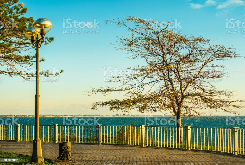 embankment stock photo