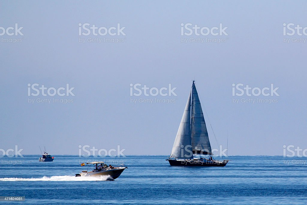 Embarcaciones marinas royalty-free stock photo