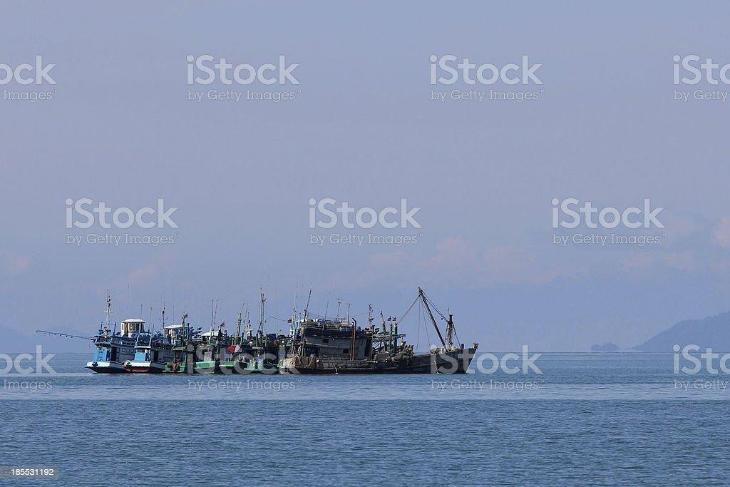 embarcaciones pequeras stock photo