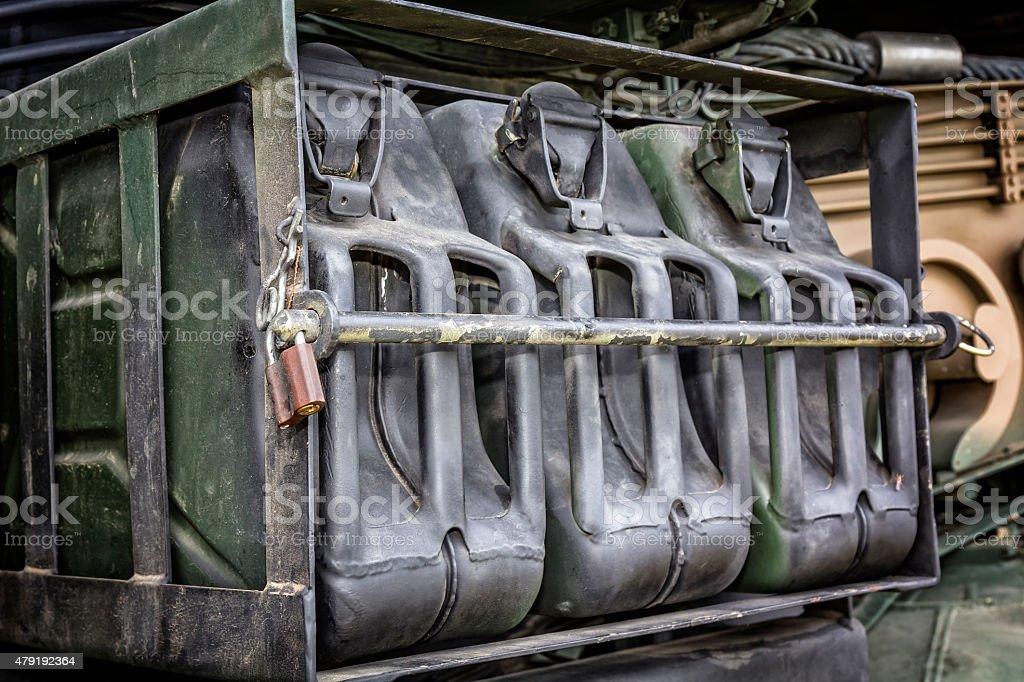 Embargo on gasoline stock photo