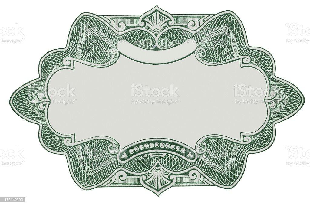 Emblem 2 stock photo