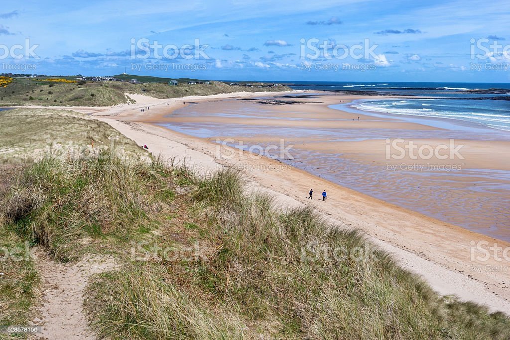 Embleton Bay stock photo