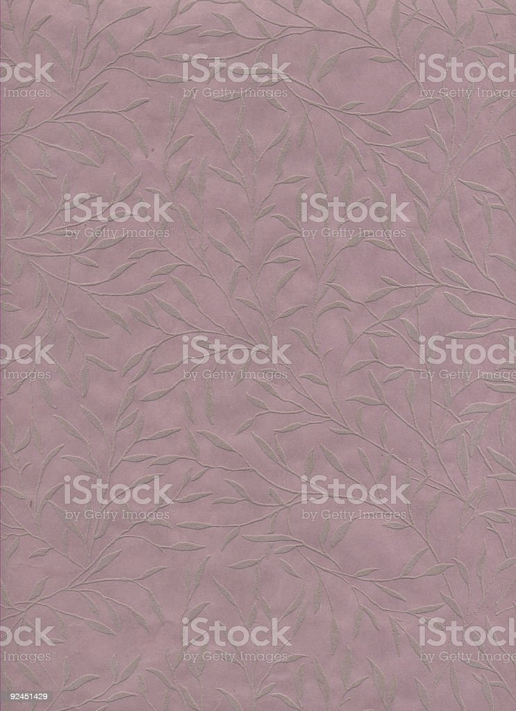 Embossed Leaf Paper stock photo