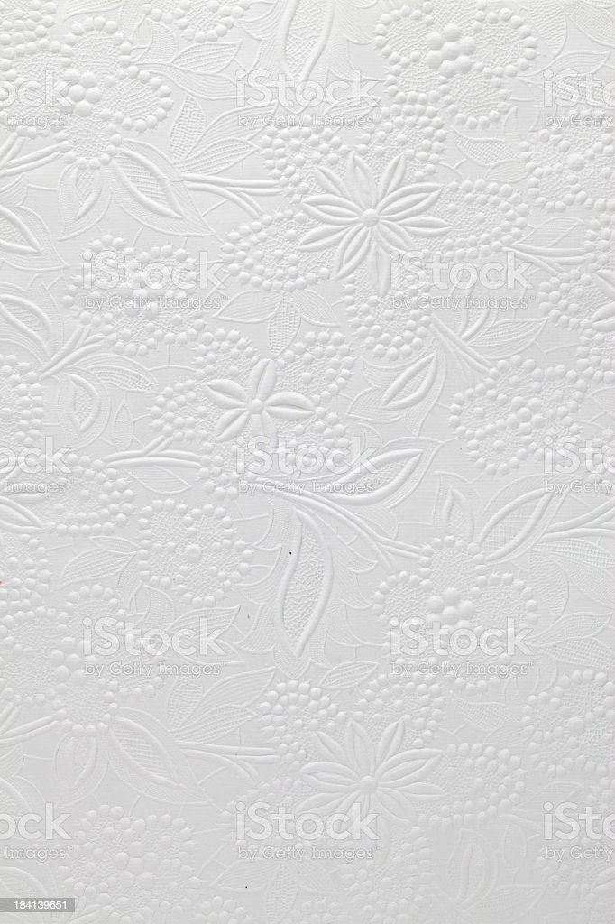 Embossed Paper stock photo
