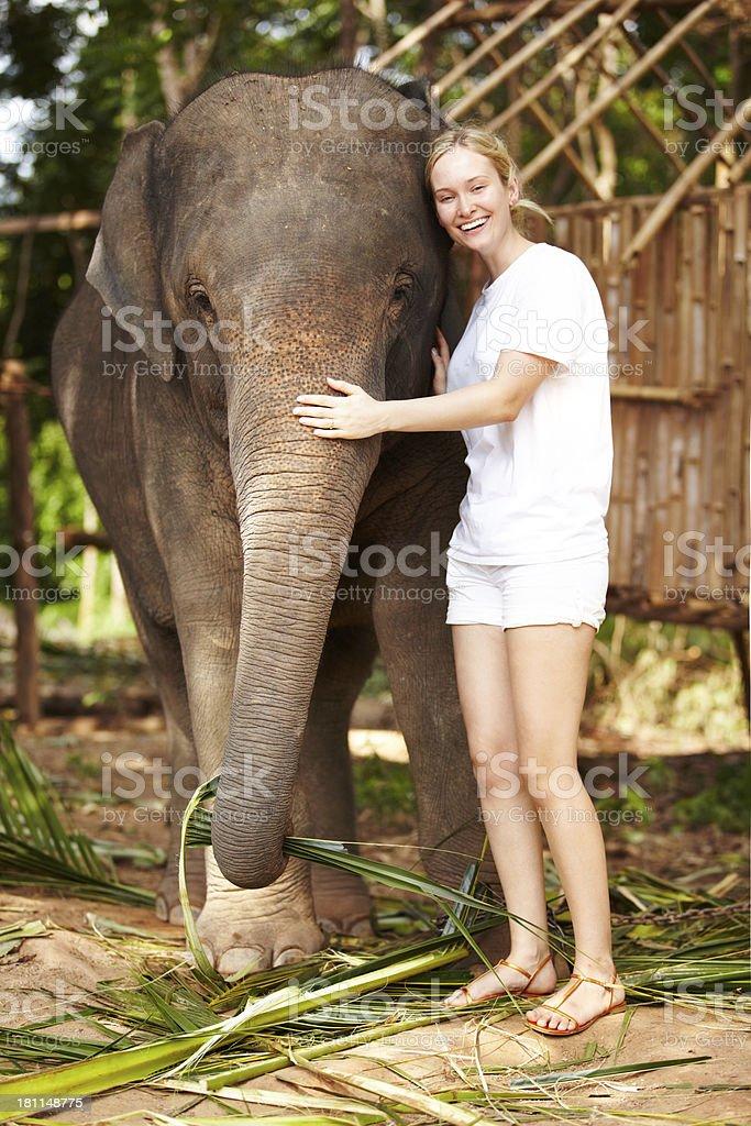 Embrace - Thailand royalty-free stock photo