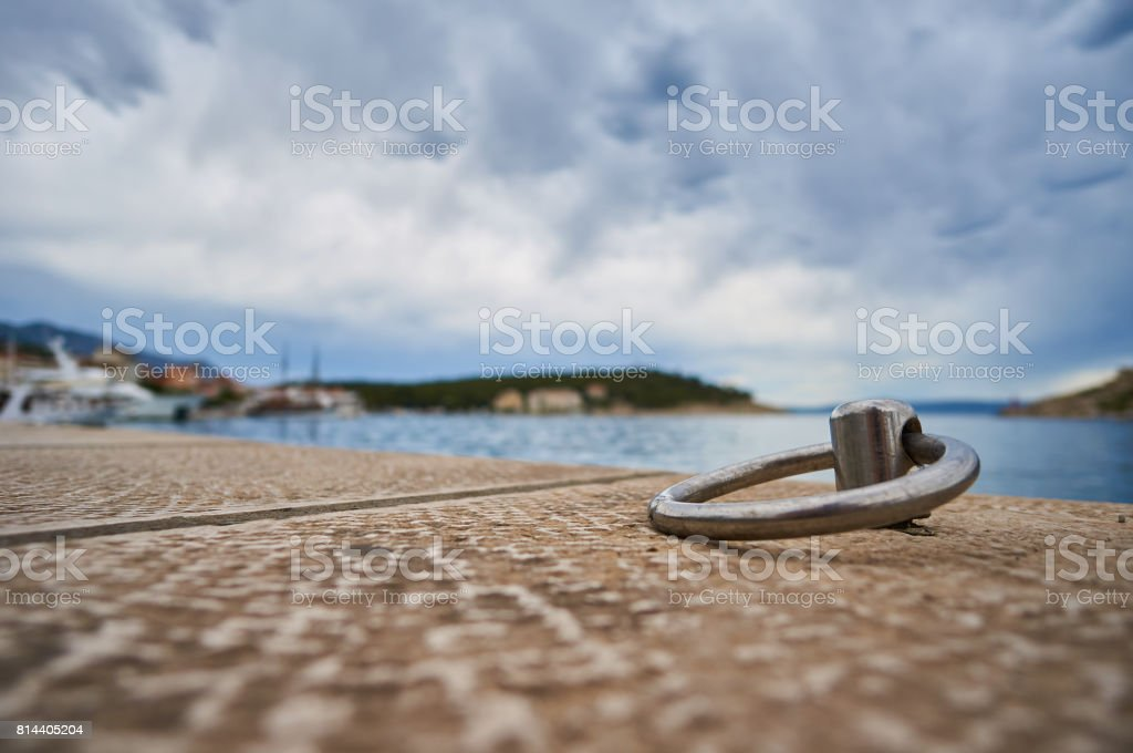 Embroidery for boats. stock photo