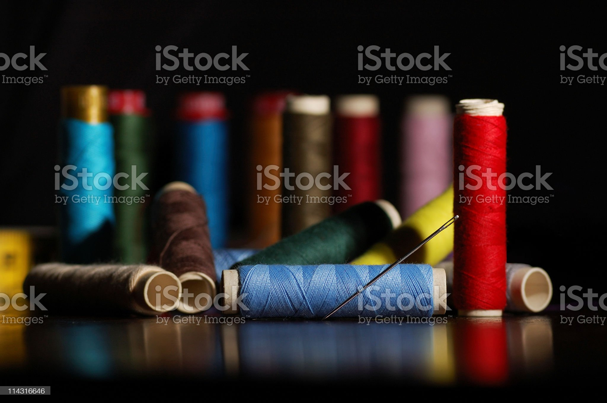 Embroidery Materials royalty-free stock photo