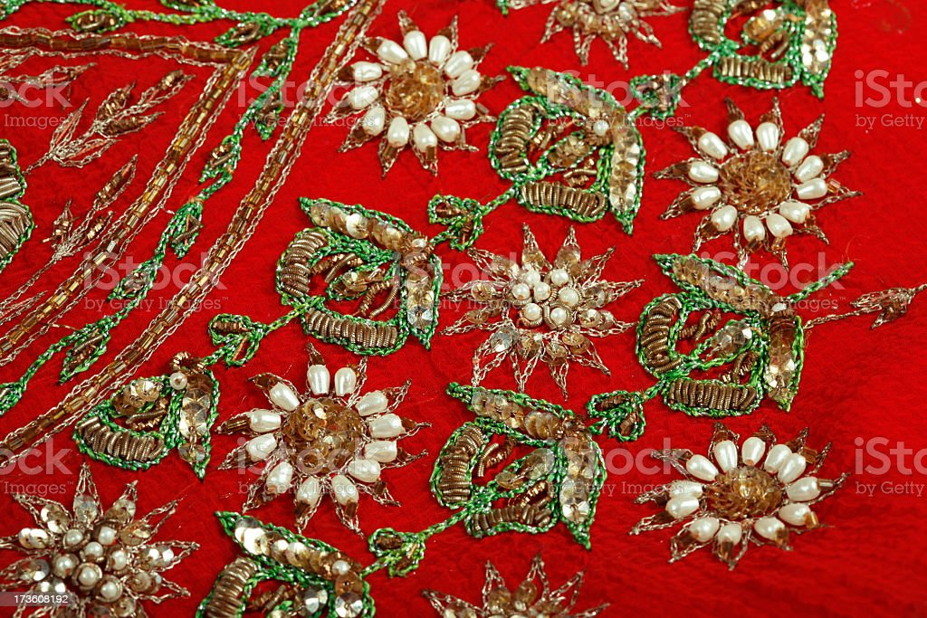 Embroidery royalty-free stock photo