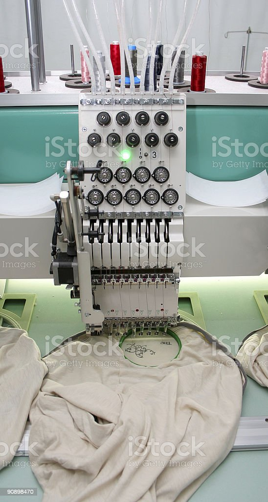 Embroidery stock photo