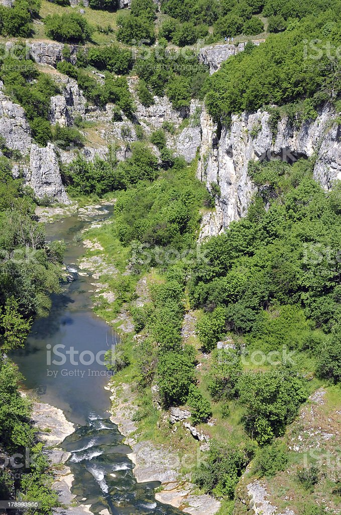 Emen Canyon in Late Spring stock photo