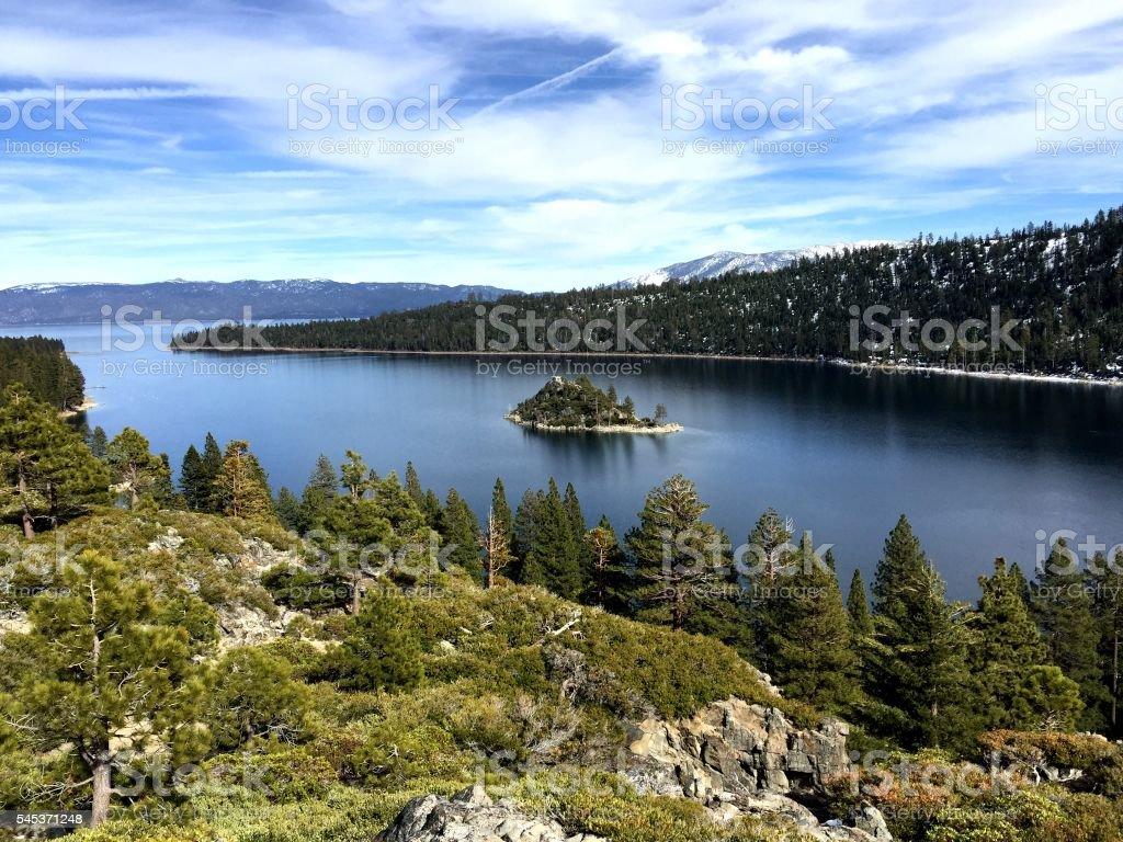 Emerald Bay, Lake Tahoe stock photo