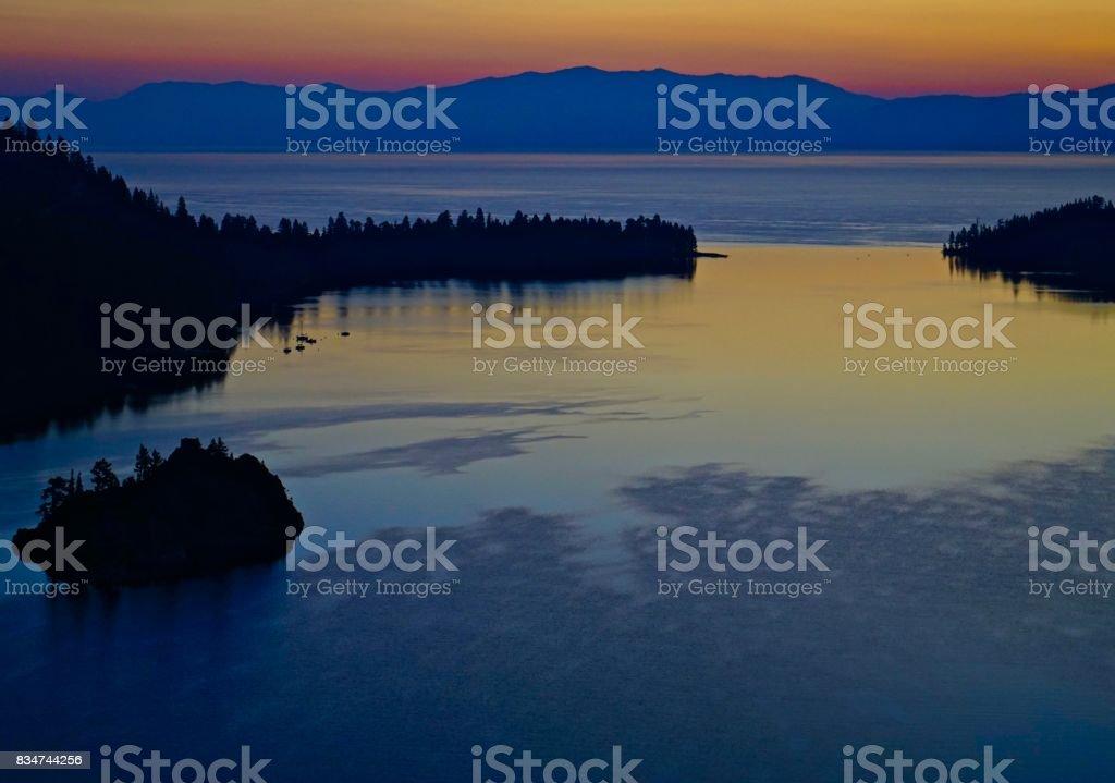 Emerald Bay Sublime stock photo