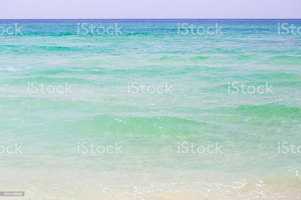 Emerald Coast Horizon stock photo