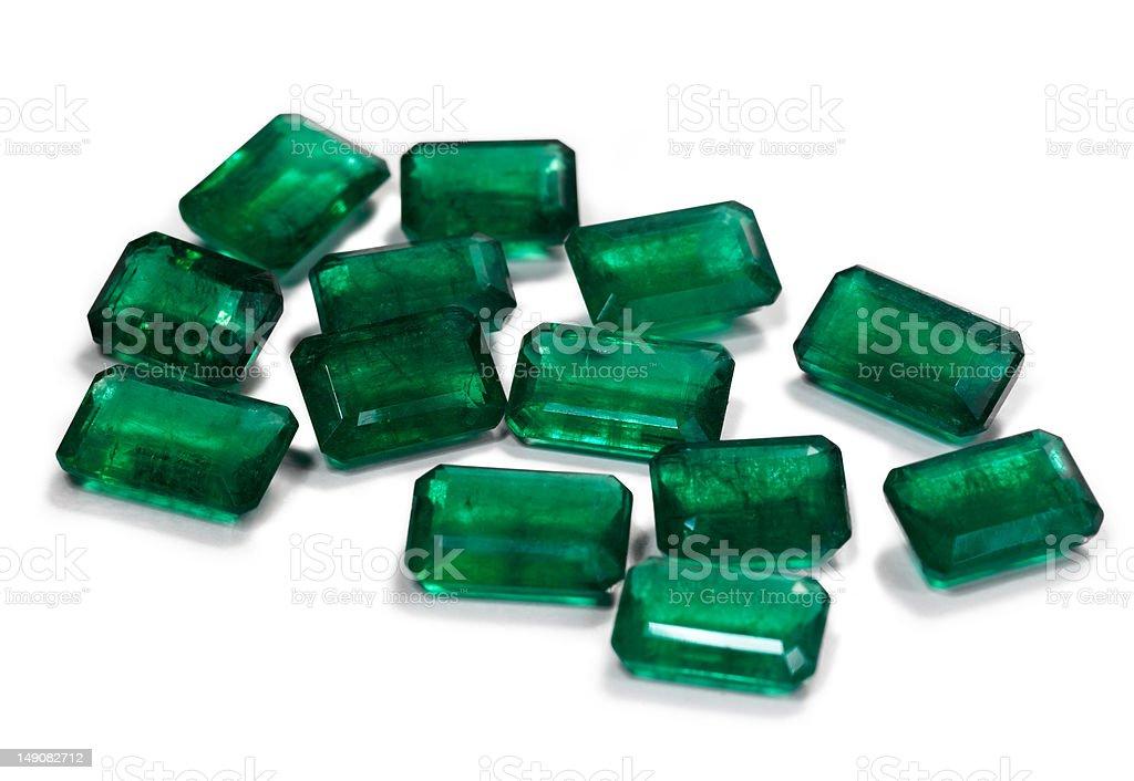 emerald group stock photo