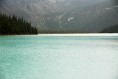 Emerald Lake in Autumn, Yoho National Park, Canadian Rockies