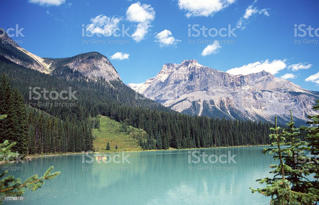 Emerald Lake royalty-free stock photo