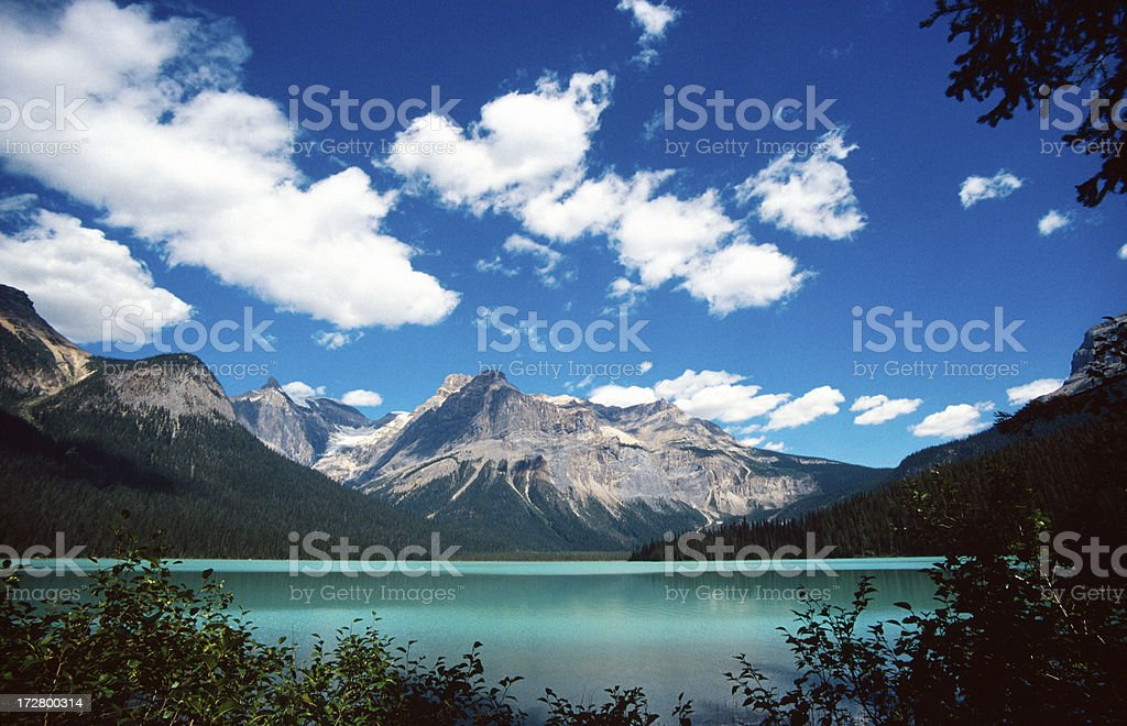 Emerald Lake royalty-free stock photo