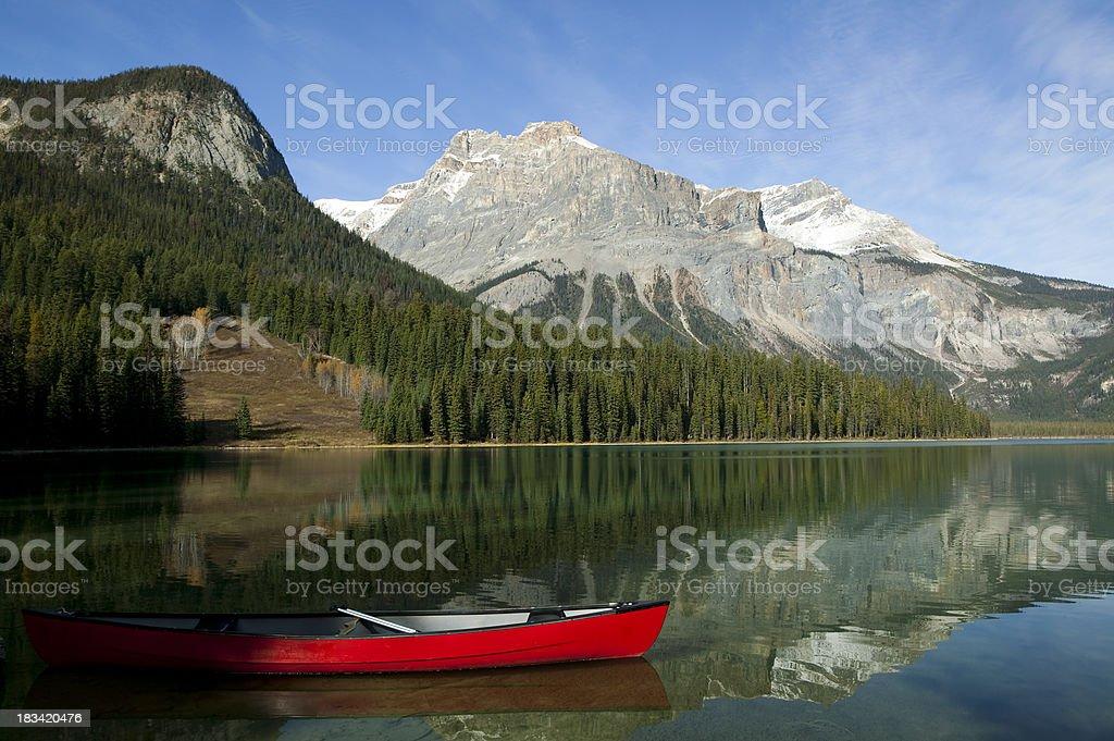 emerald lake yoho national park royalty-free stock photo
