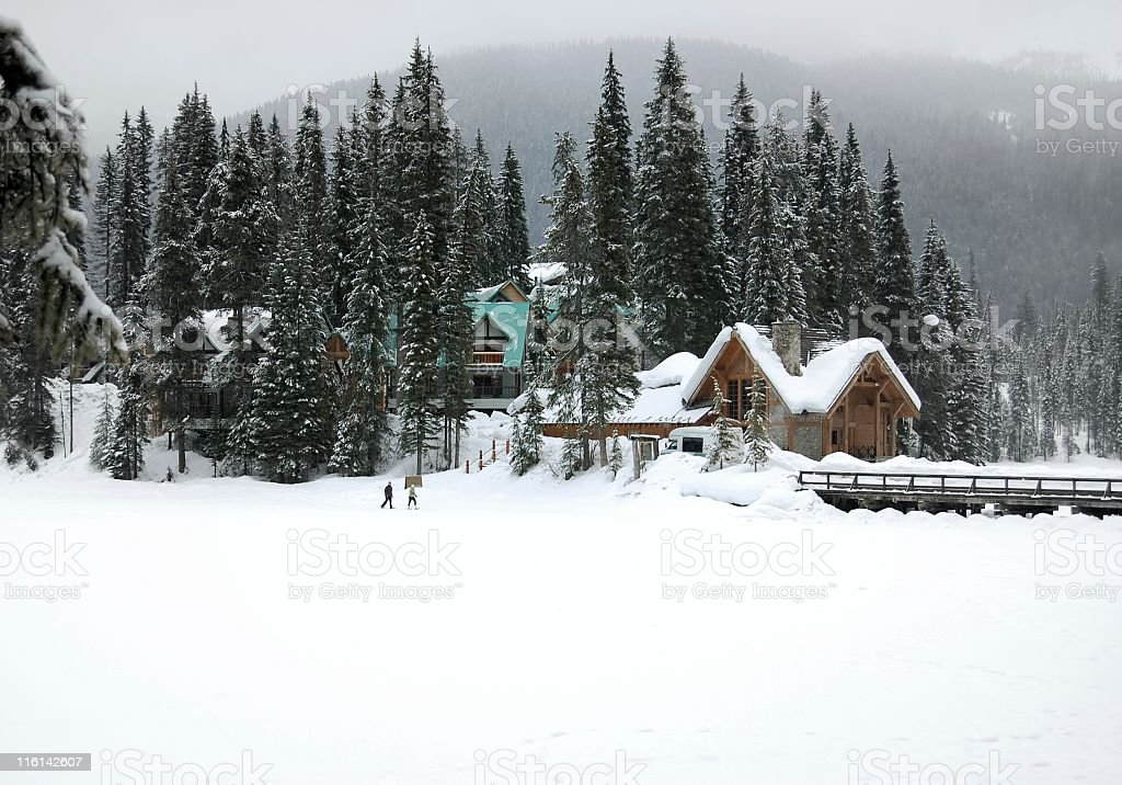 Emerald Lake,BC,Canada. royalty-free stock photo