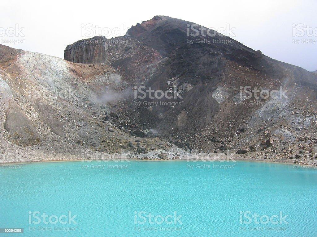 emerald lakes IIII stock photo