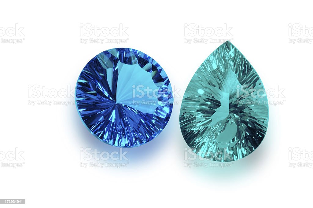 Emerald royalty-free stock photo