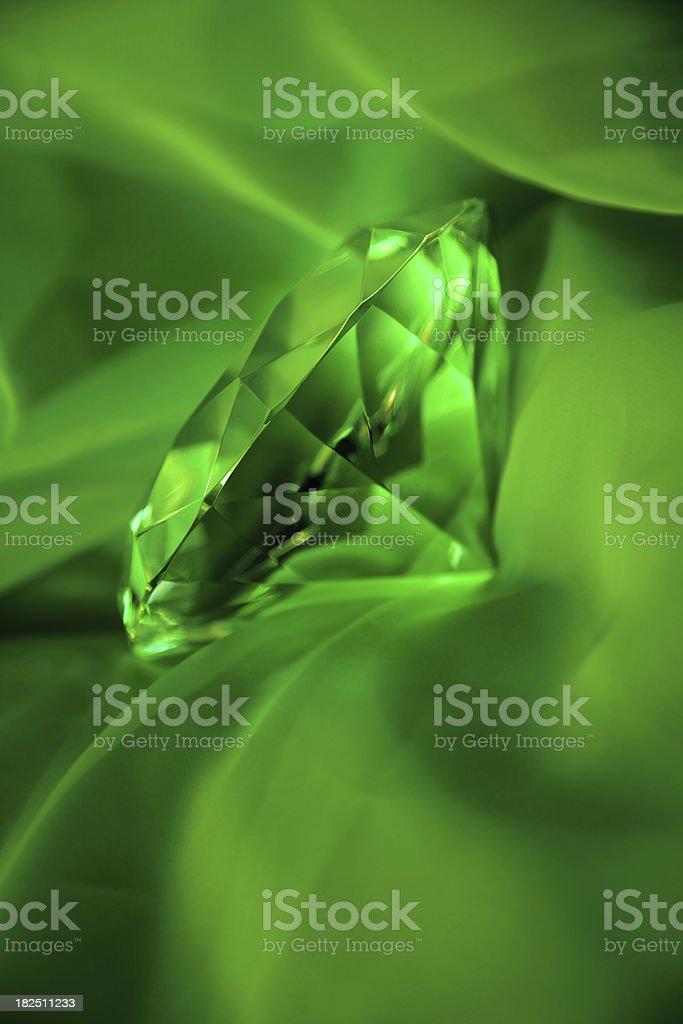 Emerald. stock photo