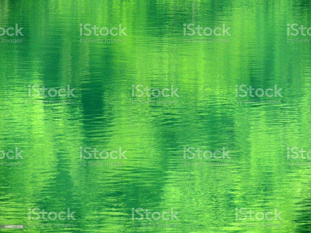 Emerald Sea stock photo