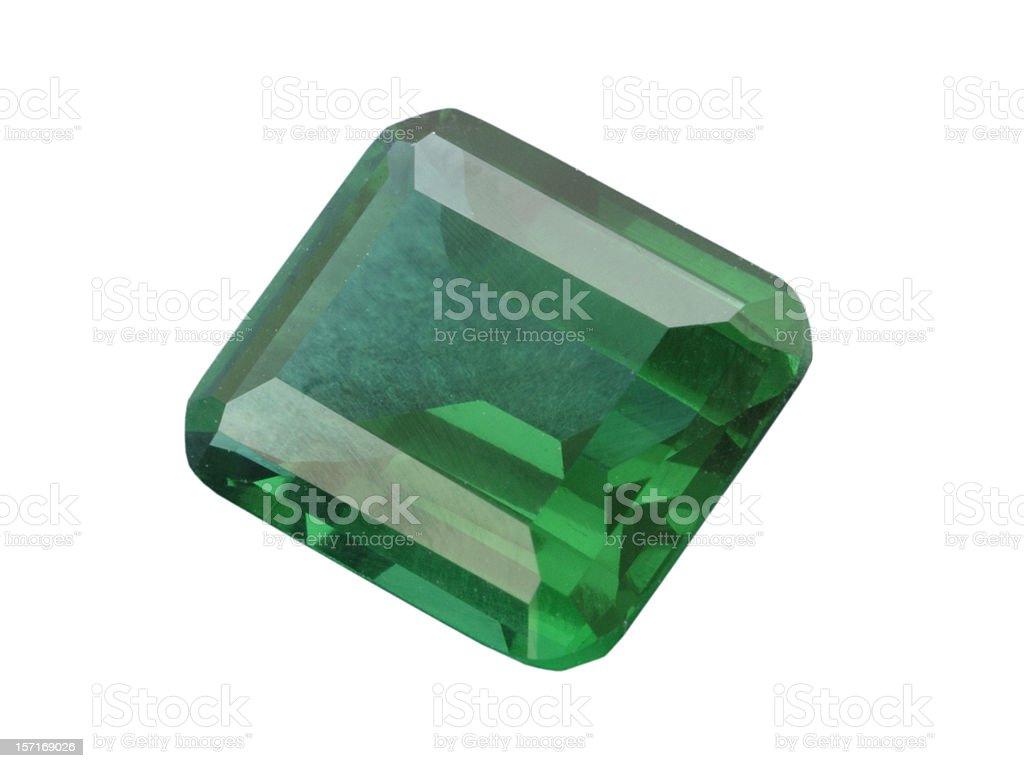 Emerald Stone stock photo