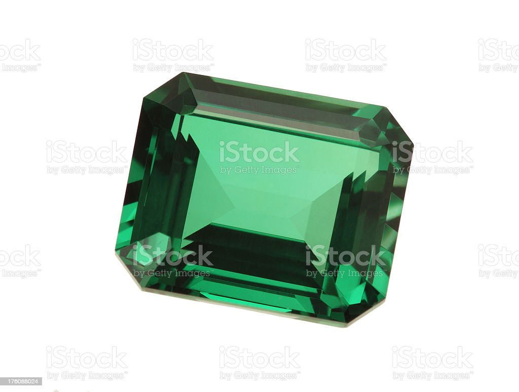 Emerald Stone royalty-free stock photo