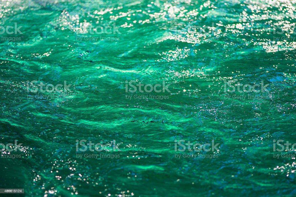 Emerald surface textures stock photo