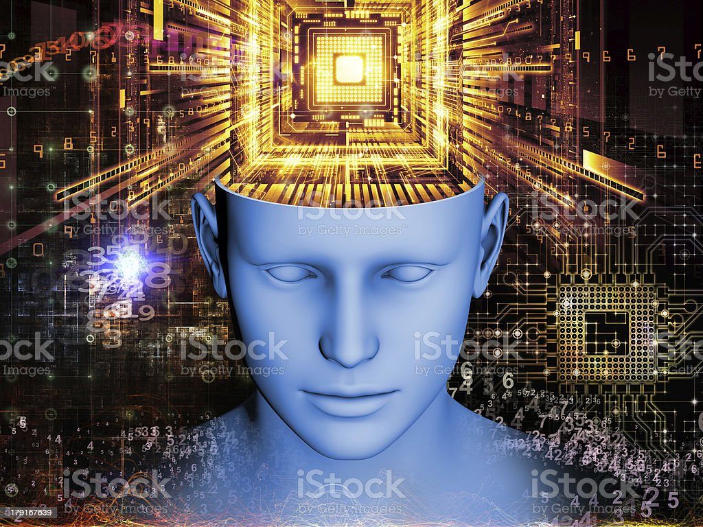 Emergence of the Mind royalty-free stock photo