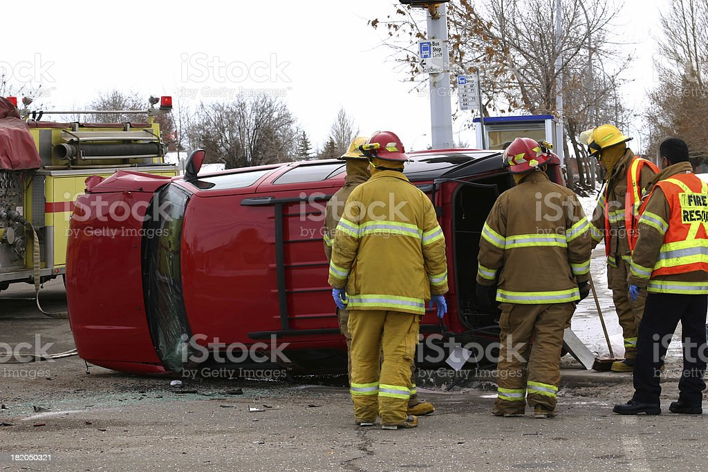 Emergency 6 stock photo