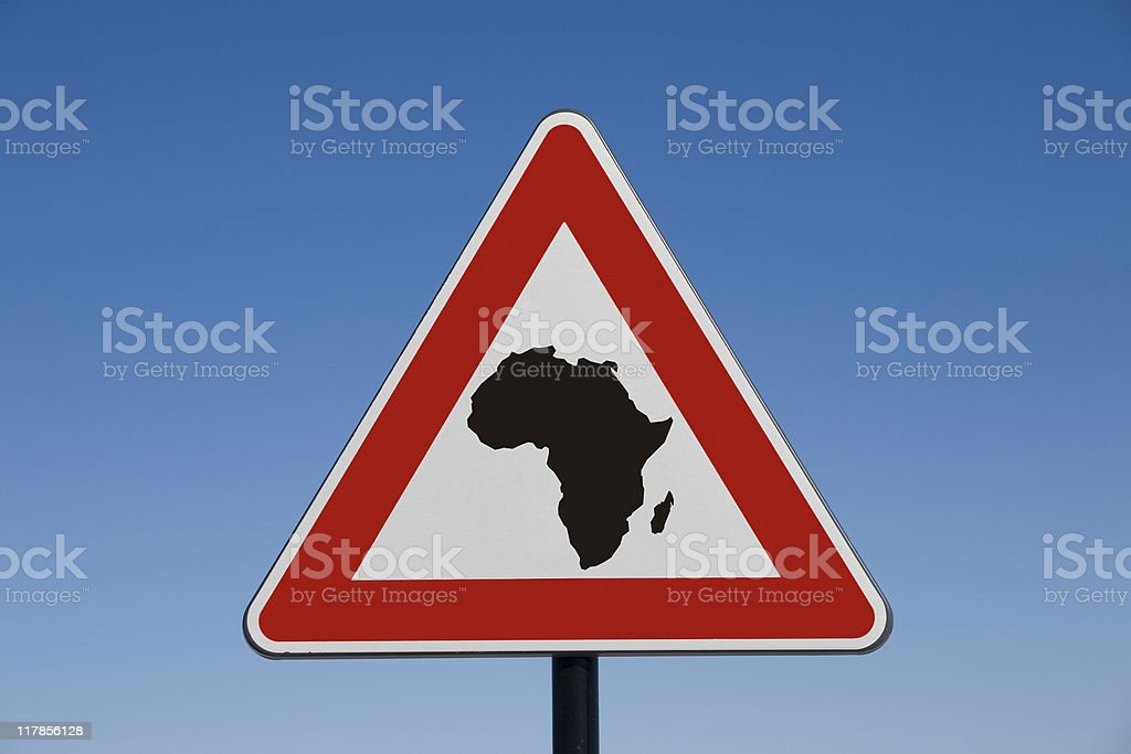Emergency Africa royalty-free stock photo