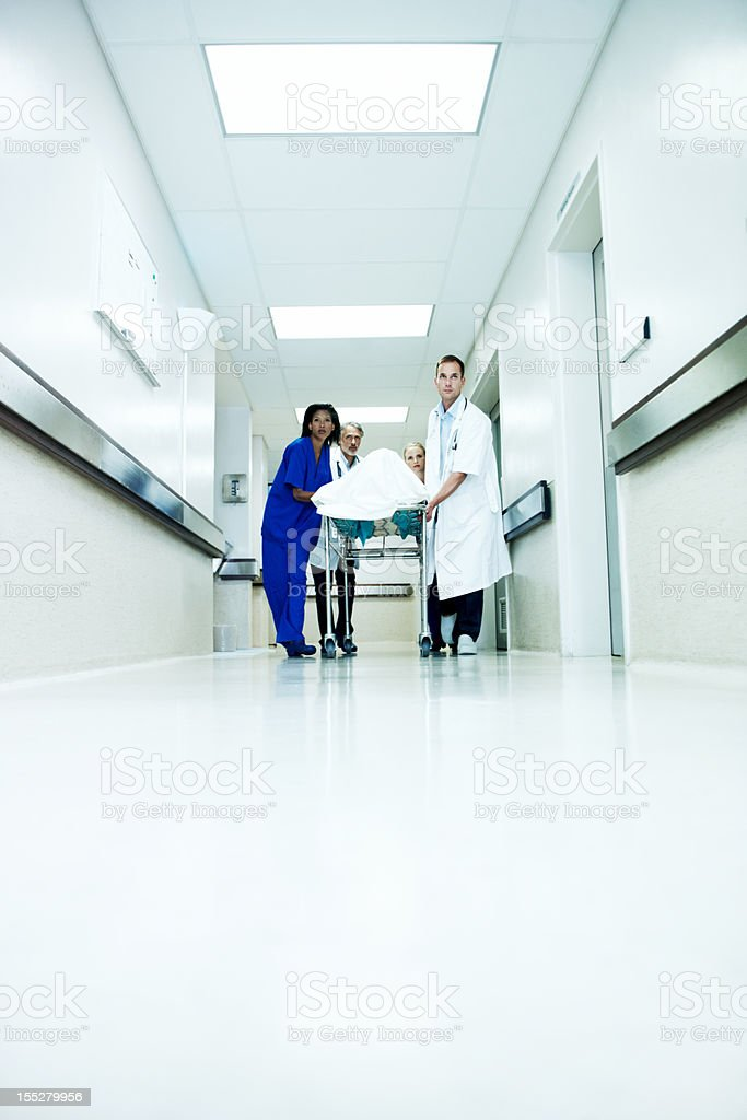 Emergency coming through royalty-free stock photo