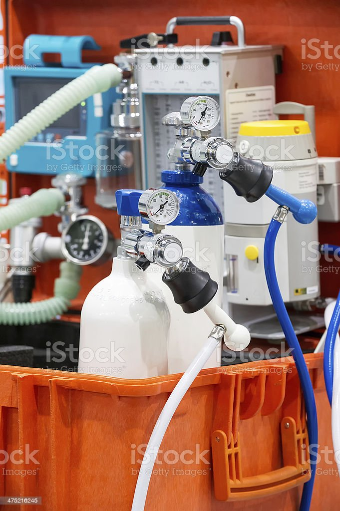 emergency equipment stock photo
