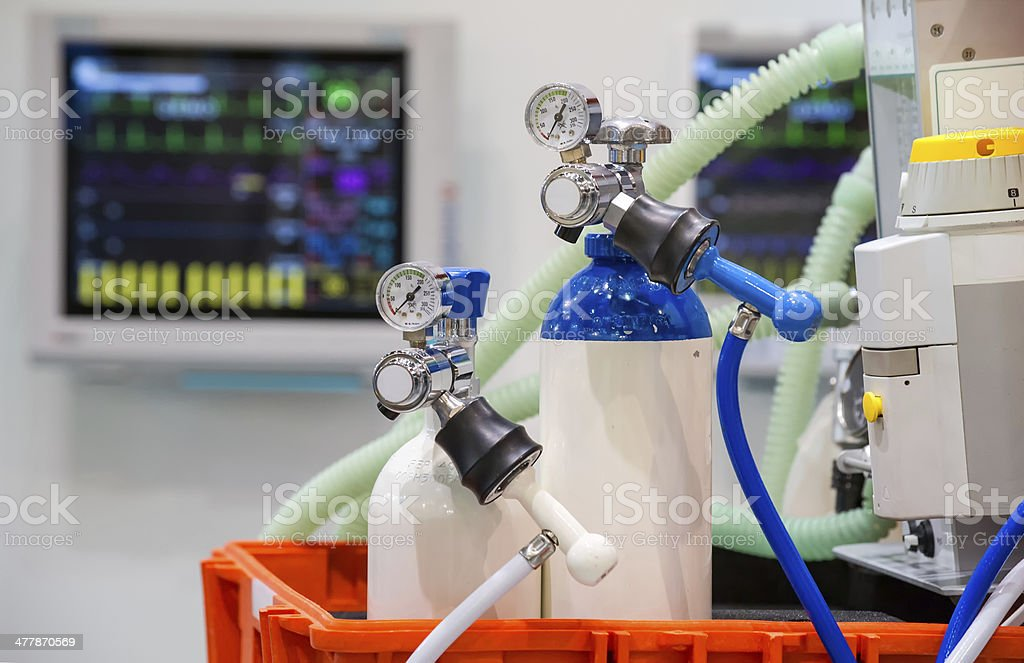 emergency equipment stock photo