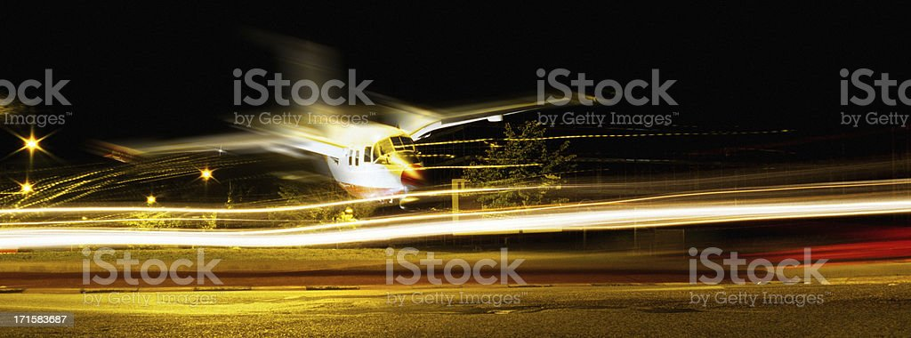 Emergency Landing royalty-free stock photo